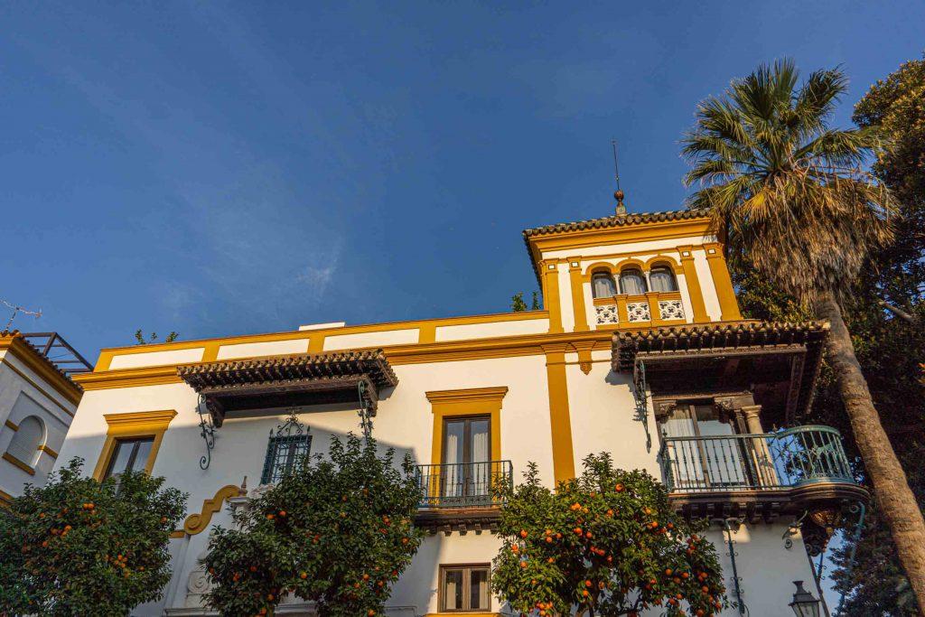 Edificio típico Sevilla