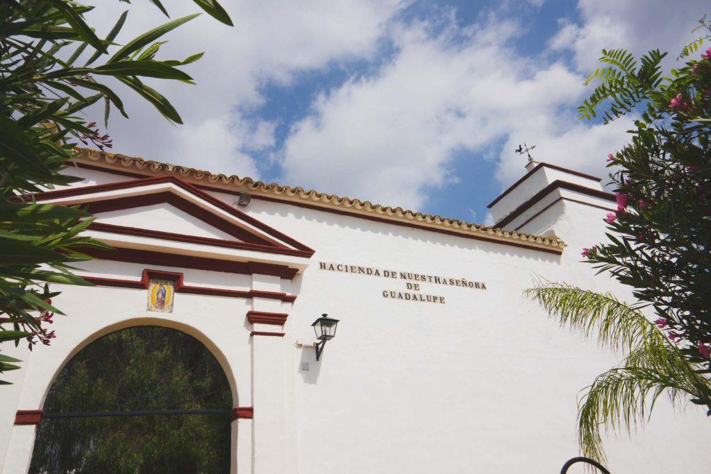 Entrada Hacienda de Nuestra Señora de Guadalupe