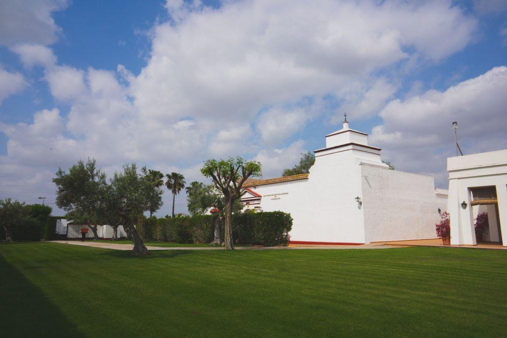 Jardín principal Hacienda Ntra. Señora de Guadalupe