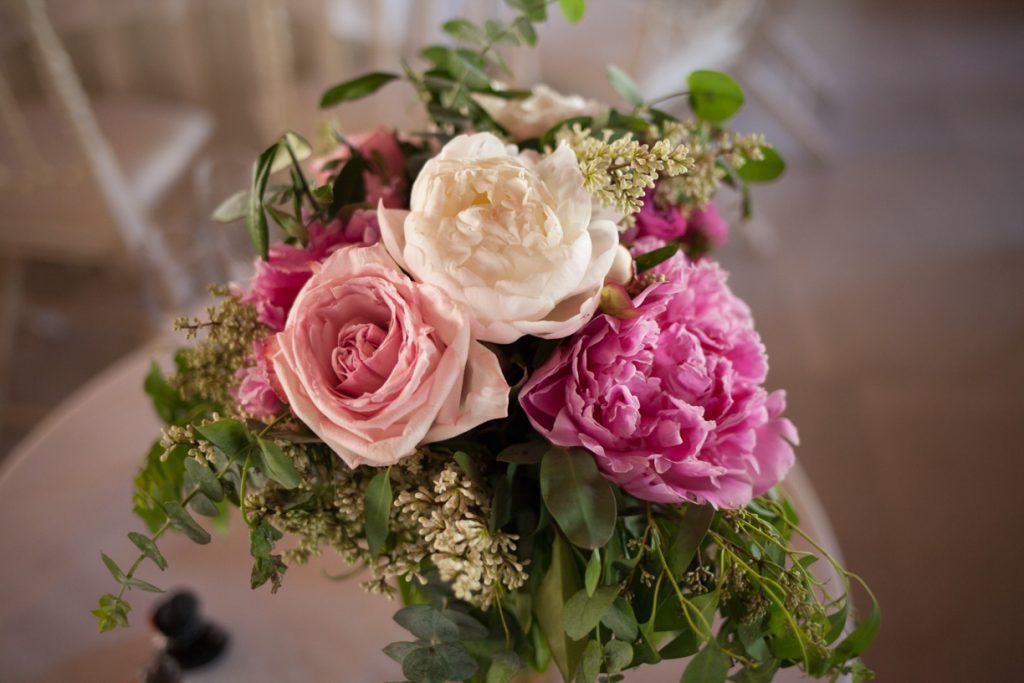 Decoración floral de Búcaro Flores