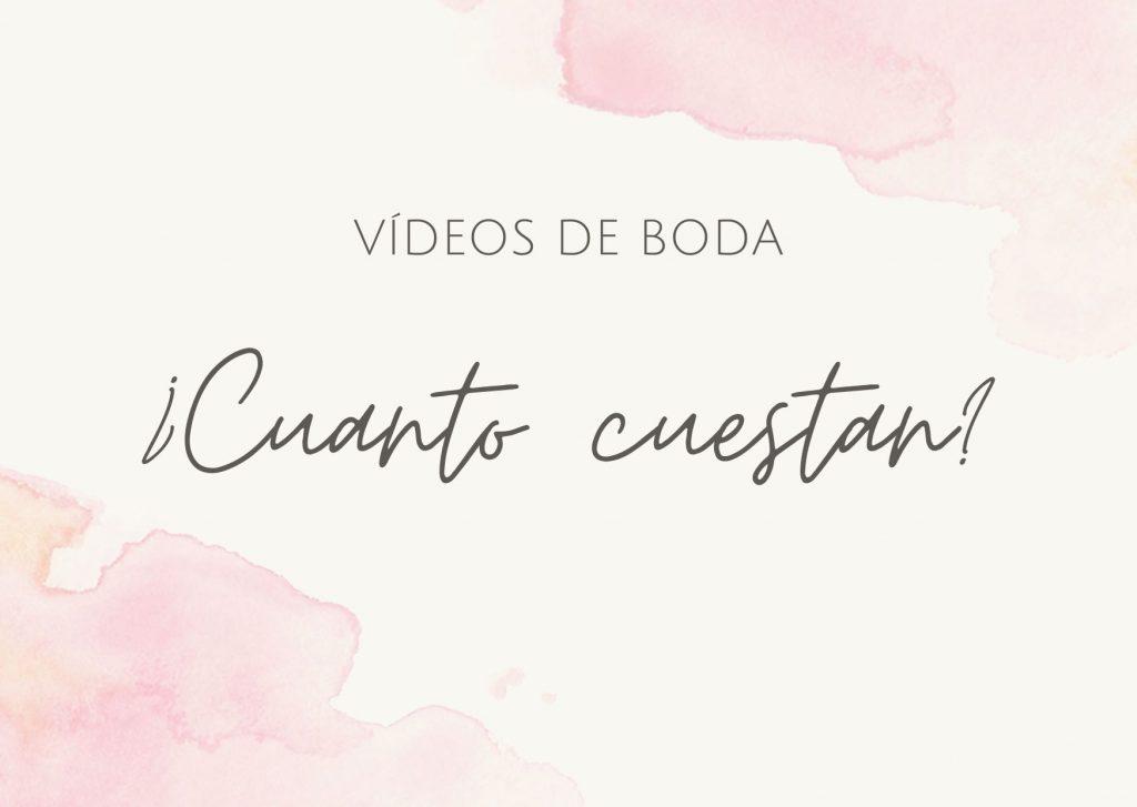 Precios de vídeos de boda en Sevilla (España). Tarifas de vídeo de bodas.